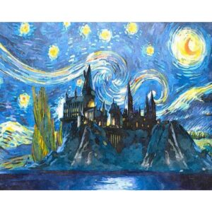 Starry Nights and Castle