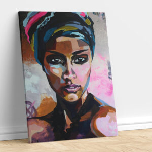 Abstract African Woman